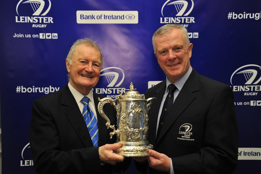 19 September 2015;  during the draw. Bank of Ireland Provincial Towns Cup Draw. Ballsbridge Hotel, Dublin.